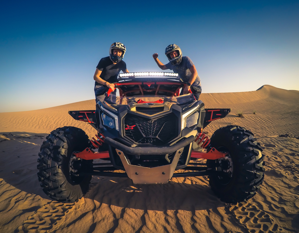 Desert Adventure in Dubai, UAE