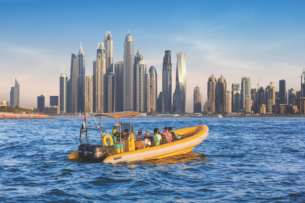 Sightseeing Boat Ride in Dubai, UAE