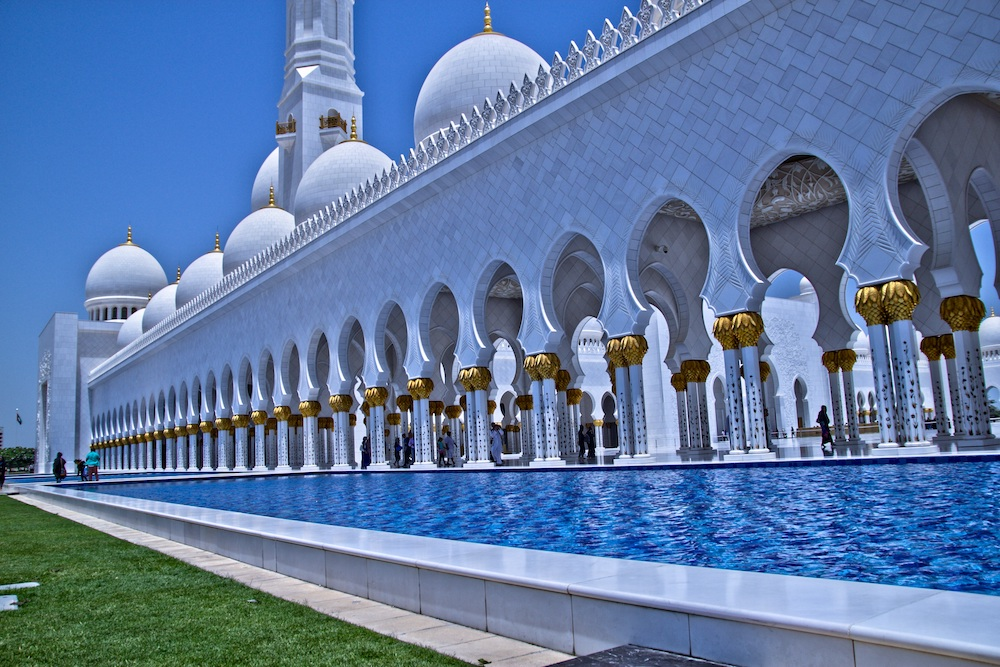 Abu dhabi city tour, sheik zayed mosque