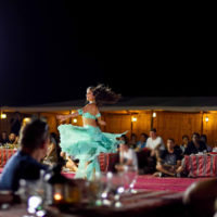 belly dance desert safari, dubai