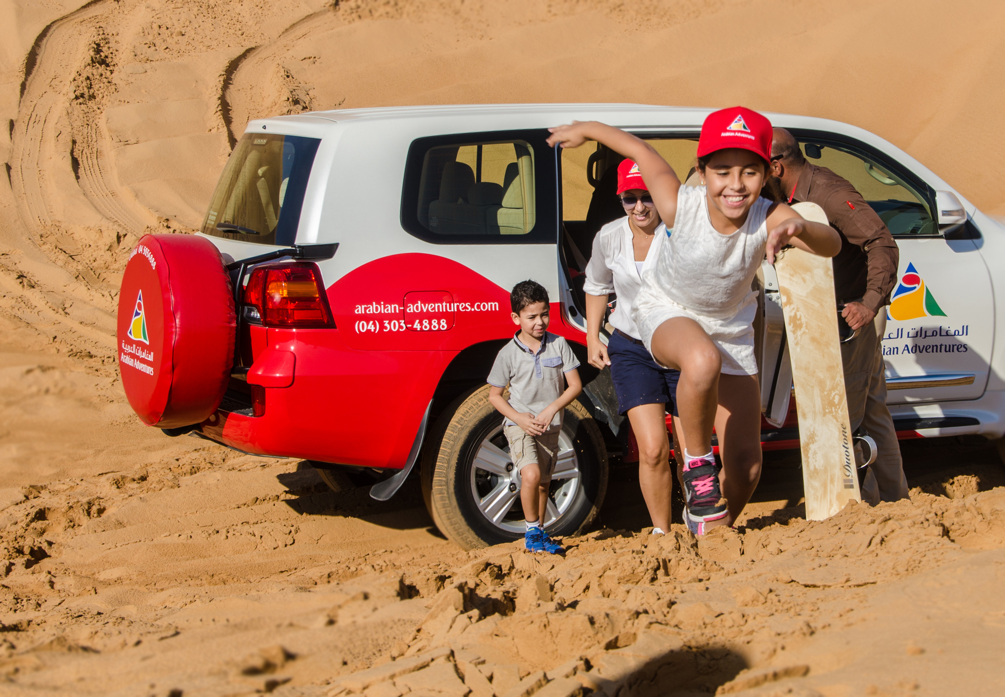 morning desert safari in dubai
