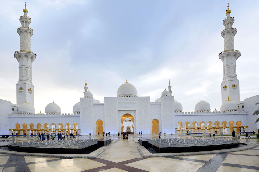 Abu dhabi city tour, Sheikh Zayed Grand Mosque