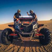 Desert Dune buggy ride in Dubai, UAE