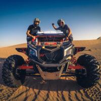 Desert Dune buggy ride in Dubai, UAE