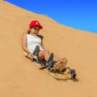 Sand Boarding Desert Safari Dubai