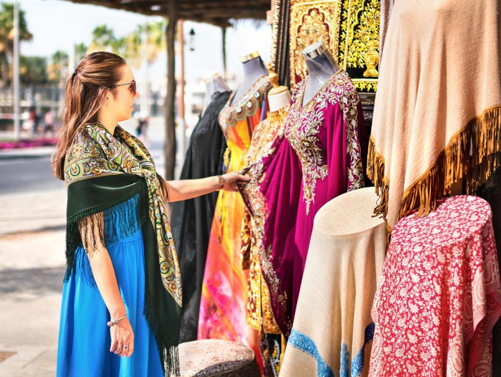 Dubai Creek Textile Souk - Arabian Adventures